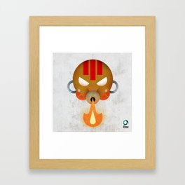 Dhalsim Framed Art Print