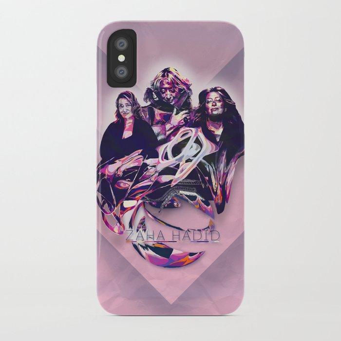 ZAHA HADID: DESIGN HEROES iPhone Case