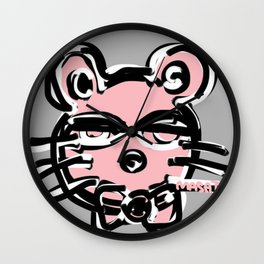 Mouse by Masato Wall Clock