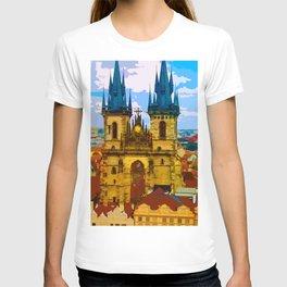 Church Our Lady of the Tyn Prague T-shirt