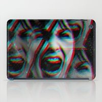 american psycho iPad Cases featuring PSYCHO by Inception of The Matrix