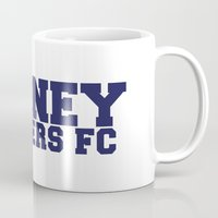 college Mugs featuring College - Blue by Sydney Rangers FC