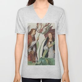 Beatific Botanical Unisex V-Neck