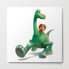 funny the good dinosaurus Metal Print