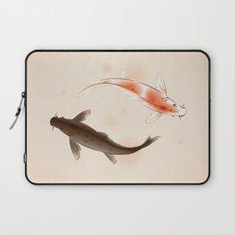 Yin Yang Koi fishes 001 Laptop Sleeve