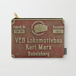 VEB Lokomotivbau Karl Marx, Babelsberg Carry-All Pouch