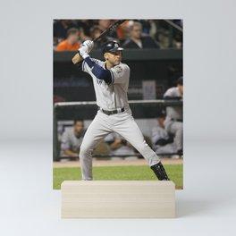𝓜𝓛𝓑 - Society6 - New York - Hall Of Fame - Baseball - Derek Sanderson 𝕵𝖊𝖙𝖊𝖗 - 2 - A19 Mini Art Print