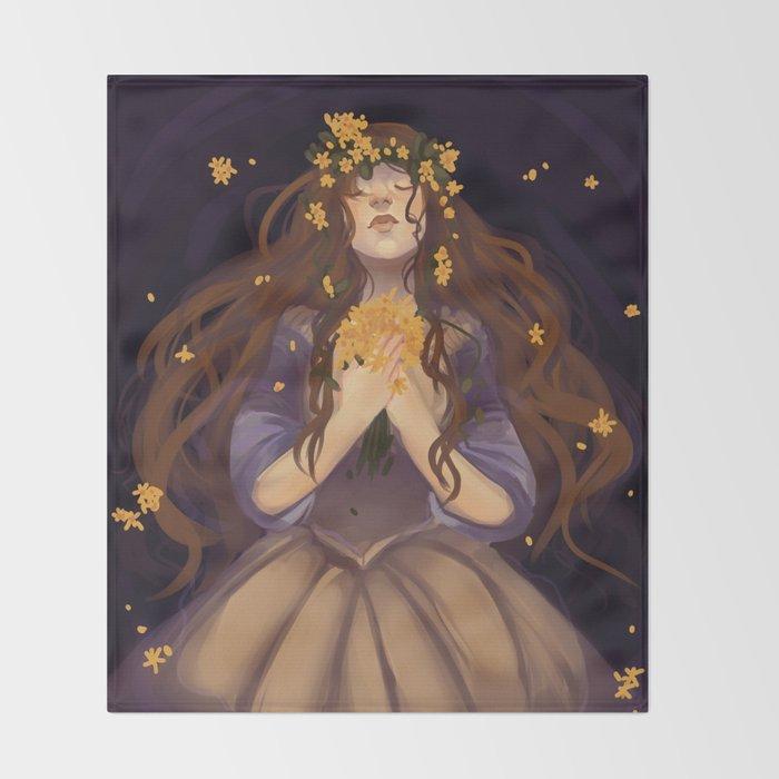 Ophelia Throw Blanket