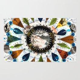 Earth Mandala Rug