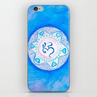 ohm iPhone & iPod Skins featuring Ohm / Om 2 by HollyJonesEcu