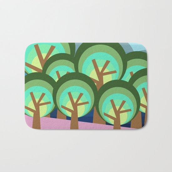 Forest Bath Mat
