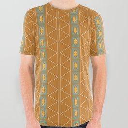 Sante Fe Geo All Over Graphic Tee