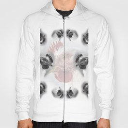 Pattern of domestic chickens Hoody