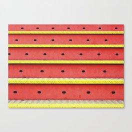 Carnival Stripes Canvas Print