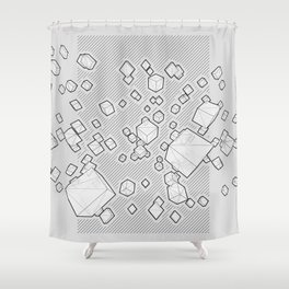REVERB Shower Curtain