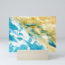Dynamics Of Water Mini Art Print