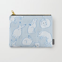 Arctic Pattern Carry-All Pouch