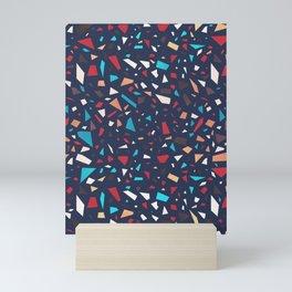 Terrazzo (Dark) Mini Art Print