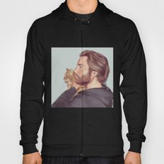 A Man and his Cat Hoody