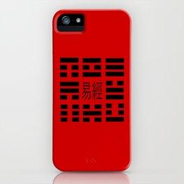 I Ching Yi jing – Symbols of Bagua iPhone Case