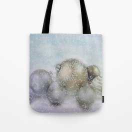 Romantic Christmas Tote Bag