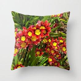 """Dawna's Garden"" Throw Pillow"