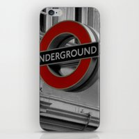 velvet underground iPhone & iPod Skins featuring Underground by itsthezoe