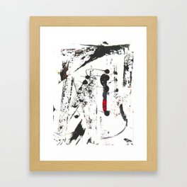 Abstract Modern Ink painting Framed Art Print