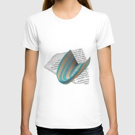 Turquoise Abstract T-shirt