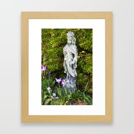 Quan Yin in Spring II Framed Art Print