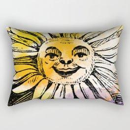 Hood's Own Sunflower Rectangular Pillow