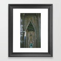 St. John's Heart Framed Art Print