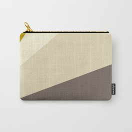 Muted gold and off-white  #society6 #decor #buyart Carry-All Pouch