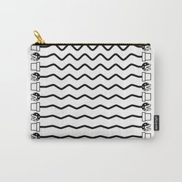 Good vines (Black) Carry-All Pouch