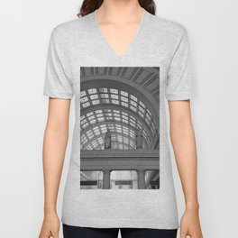 Union Station, No. 4 Unisex V-Neck