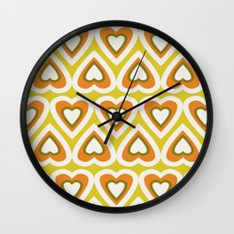 Heart Felt Spring Love Wall Clock