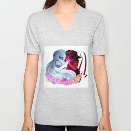 Ruby and Sapphire - Steven Universe Unisex V-Neck