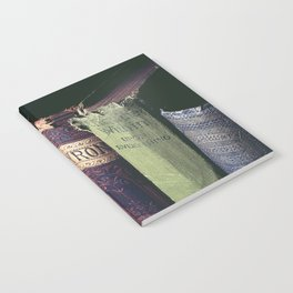 Vintage low light photography of books Notebook