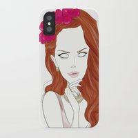 lana iPhone & iPod Cases featuring lana by roololoo