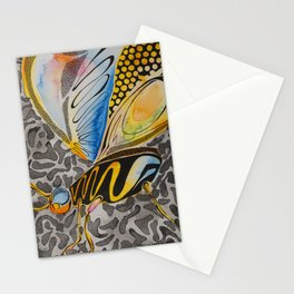 Notice me in Blue 6 Stationery Cards