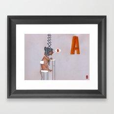 Horatio Framed Art Print
