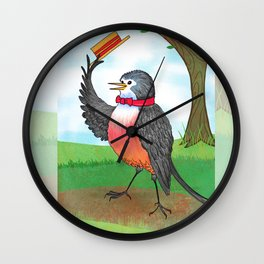 Top Of The Morning To You Wall Clock