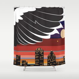 Wings of Freedom  Shower Curtain