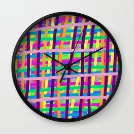 peek abstract Wall Clock