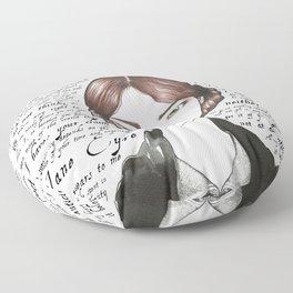 Jane Eyre Floor Pillow