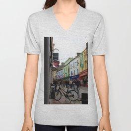 Galway Streets Unisex V-Neck