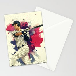 Derek Jeter Stationery Cards
