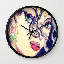 The beautiful gypsy girl Wall Clock