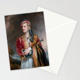 Lord Byron in Albanian Dress - 1813 Stationery Cards