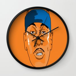 MeloFace Wall Clock